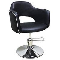 AS-7199 Кресло парикмахерское (черно-белое), фото 1