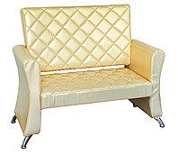 AS-7089 Скамейка для клиентов (золотистая)
