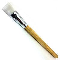 """Кисть для нанесения парафина """"AISULU""""-958 деревянная ручка №36771"""