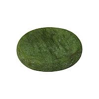Камень для стоун-терапии нефритовый 8 х 6 см (овальный) №84459(2)