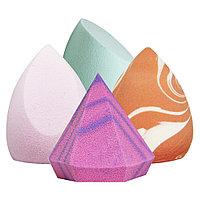 Спонж для макияжа AISULU в прозр. пластик.упаковке №84466(2)