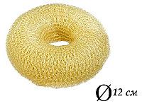 Валик для объема волос Q-66 бежевый Ø 12 см на кнопке (AISULU) (м) №70865(2)