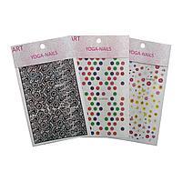 Стикеры для ногтей YOGA-NAIL 15 х 8,5 см (в ассорт.) №86125(2)