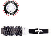 Брашинг №2022 керамический Ø32 (черно-белый) AISULU №53011(2)
