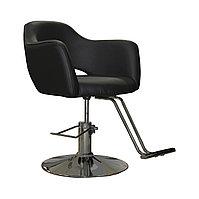 AS-7199 Кресло парикмахерское (черное)