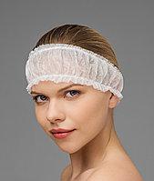 Фиксатор для волос одноразовый Спандбонд на 2-х резинках Чистовье (10 шт.) №1893