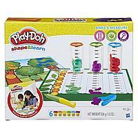 Пластилин Play-Doh Плей-До Сделай и измерь Hasbro