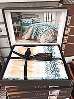 Комплект постельного белья двухспального, хлопок
