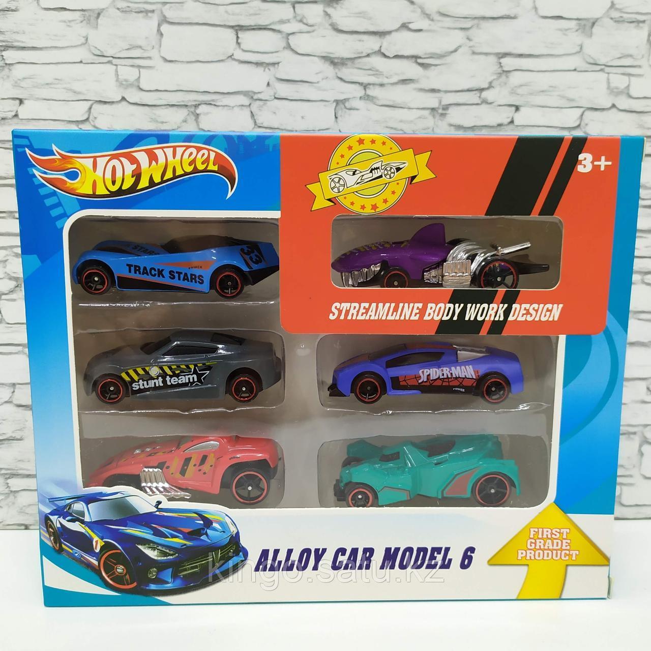 Hot Wheel Хот Вил Подарочный набор из 6 машинок в ассортименте