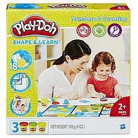 Пластилин  Play-Doh Плей-До Цифры и числа  Hasbro