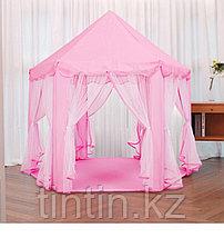 Детская палатка домик - Шатёр  140х140х135см, фото 3
