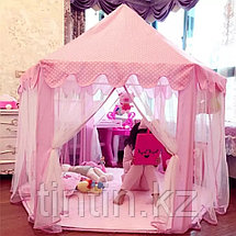 Детская палатка домик - Шатёр  140х140х135см, фото 2