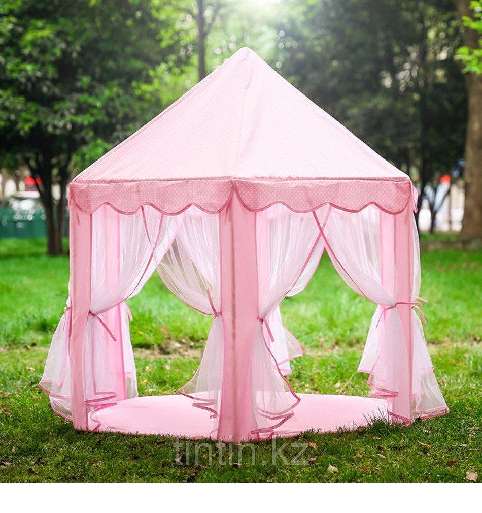 Детская палатка домик - Шатёр  140х140х135см