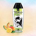 Лубрикант SHUNGA TOKO AROMA на Водной Основе, со Вкусом Дыни и Манго, 165мл, фото 2
