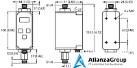 Расходомер TURCK FTCI-G1/4D06A4P-2LIX-H1141