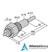 Датчик потока TURCK FCS-G1/2A4-NAEX/AL100