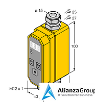 Расходомер TURCK FCMI-15D12DYA4P-LIUP8X-H1141