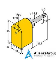 Датчик потока TURCK FCS-HA2P-LIX-H1141/AL115