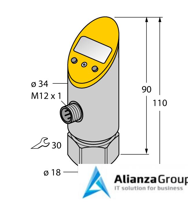 Преобразователь сигнала TURCK TS-400-LI2UPN8X-H1141