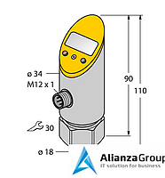 Преобразователь сигнала TURCK TS-400-2UPN8X-H1141