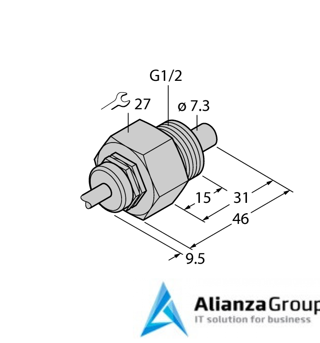 Датчик потока TURCK FCS-G1/2HC22-NA