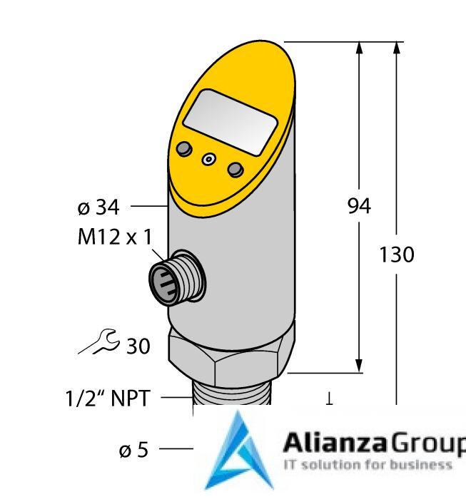 Датчик температуры TURCK TS-530-LI2UPN8X-H1141-L016