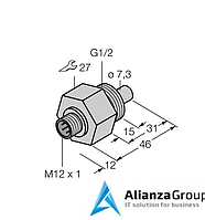 Датчик потока TURCK FCS-G1/2HB2-NA-H1141