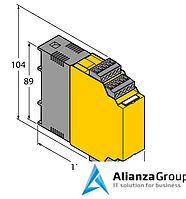 Блок обработки для датчиков потока TURCK FM-IM-3UR38X