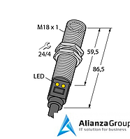 Инфракрасный датчик температуры TURCK M18TUP14 W/30