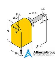 Датчик потока TURCK FCS-HA2P-VRX/24VDC/AL115 6M