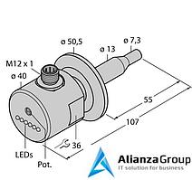 Датчик потока TURCK FCS-50A4-AP8X-H1141/D014