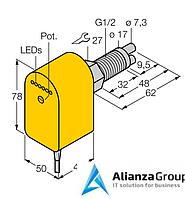 Датчик потока TURCK FCS-GL1/2A2P-VRX/24VDC/A