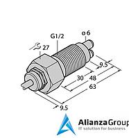 Датчик потока TURCK FCS-GL1/2A2-NA/A/D100