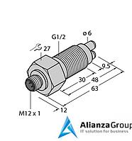 Датчик потока TURCK FCS-GL1/2A2-NA-H1141/A