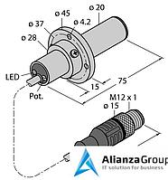 Датчик потока TURCK FCS-K20-AP8X-H1141/3M