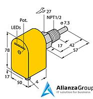 Датчик потока TURCK FCS-N1/2A4P-LIX-H1141