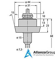 Датчик потока TURCK FCS-DN25A4-NA/D100