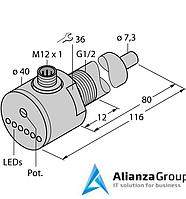 Датчик потока TURCK FCS-G1/2A4-AP8X-H1141/L080