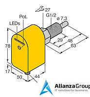 Датчик потока TURCK FCS-GL1/2A4P-LIX-H1141