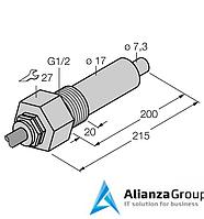 Датчик потока TURCK FCS-G1/2A4-NA/L200