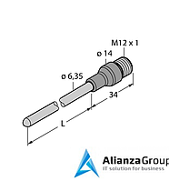 Датчик температуры TURCK TP-206.35A-CF-H1141-L050