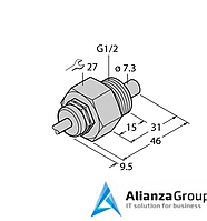 Датчик потока TURCK FCS-G1/2A4-NAEX/D100