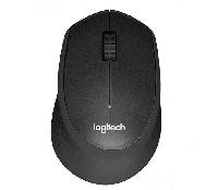 Мышь беспроводная Logitech M330 Silent Plus Black