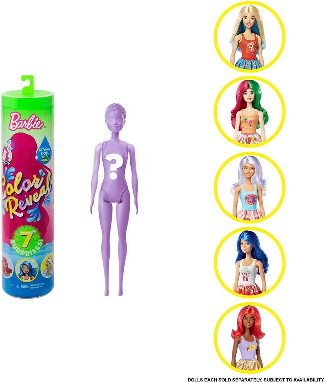 Barbie Color Reveal Барби колор ревеал 7 сюрпризов 2 серия