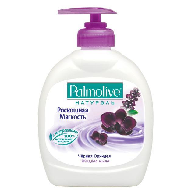 Жидкое мыло Palmolive Натурэль Черная Орхидея  300мл (Жид.мыло Palmolive Натурэль Черная Орхидея 300мл)