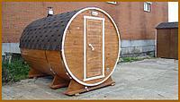 Баня-Бочка - 3,5 метра, Сосна, фото 1