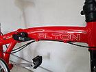Складной легкий велосипед Alton на 20-х колесах со скоростями, фото 3
