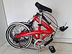 Складной легкий велосипед Alton на 20-х колесах со скоростями, фото 6