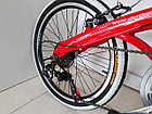 Складной легкий велосипед Alton на 20-х колесах со скоростями, фото 7