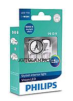 Philips LED T10 12791 width light 12791 6000K (к-т)
